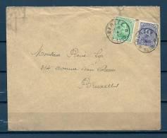 Nr 137+140 Op Brief Van Berzee Naar Bruxelles 04/12/1920 - Sterstempel (GA5712) - 1915-1920 Albert I