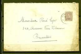Nr 140 Op Brief Van Dinant Naar Bruxelles 22/11/1920 (GA5721) - 1915-1920 Albert I