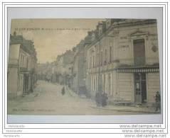 PL1 -    Le Lion D´angers  Grande Rue Et Hotel Chimier 1924 - Angers