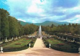 """PALACIO REAL DE LA GRANJA - Fuente De La / Fontaine De La / Fountain Of The """"Cascada"""" - TBE, Carte Neuve, 2 Scans - Valencia"""