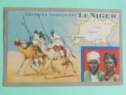Colonies FRANCAISES - LE NIGER - Edition Spéciale Des Produits De LION NOIR - Geographical Maps