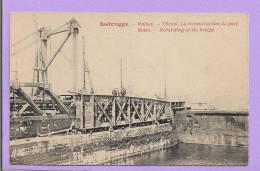 Belgique - ZEEBRUGGE - Ruines - Chenal - La Reconstruction Du Port - Belgique