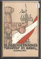 BASEL - 56. EIDGEN. TURNFEST JULI 1912 - TB - BS Basle-Town