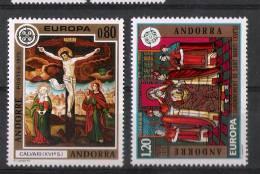 01611 Andorra Francesa Edifil 264-265 Europa 75 ** Eur. 21,- - Nuevos