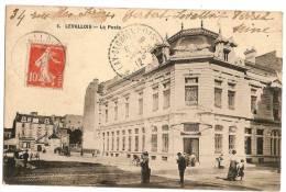 LEVALLOIS La Poste (1912) - Levallois Perret