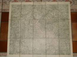 Garnisionumgebungskarte Zwickau, Königlich  Sächsischer Generalstabes 1914, TOP - Cartes Géographiques