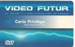 CARTE-VIDEO FUTUR-PRIVILEGE-BE -