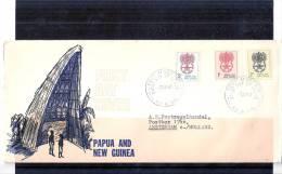 FDC Papua & New Guinea To Holland - Paludisme - Malaria (to See) - Maladies