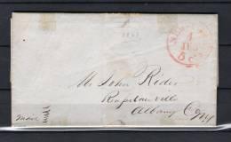 Voorloper Van New York Naar Albany 04/06/1847 (GA6686) - Timbres