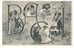 3684 AUGURALE BACI 1905 VIAGGIATA - San Valentino