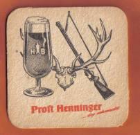 H B  BEER VINTAGE MATT - - Beer Mats