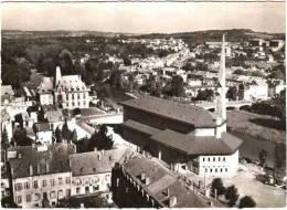 CPSM 54 Baccarat - L'église (Art Moderne) Et La Mairie - Baccarat