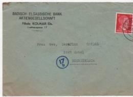 Colmar Pour  Schnierlach  LAPOUTROIE Tampons 17b - Marcophilie (Lettres)