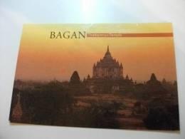 Bagan Thatbyinnyu Temple Francobollo Commemorativo Myanmar - Myanmar (Burma)