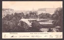 SN93) Stockholm - Kungl. Slottet Och Kungsträdgården - 1901 - Sweden