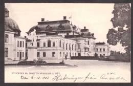 SN95) Stockholm - Drottningholms Slott - 1903 - Sweden