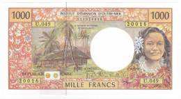 """Polynésie Française / Tahiti - 1000 FCFP / U.049 / 2012 / """"Nouvelles Signatures"""" - Neuf / Jamais Circulé - Papeete (Polynésie Française 1914-1985)"""