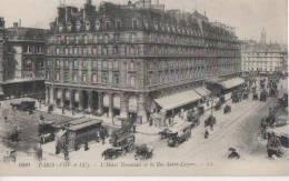 PARIS ( Hotel Terminus Et La Rue St Lazare ) - Arrondissement: 09