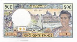 Polynésie Française - 500 FCFP - H.014 / 2010 / Signatures Vienney-Landau-Besse - Neuf  / Jamais Circulé - Papeete (Polynésie Française 1914-1985)