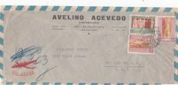 Uruguay 1948 Airmail Cover Sent To USA - Uruguay
