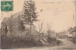 CPA 08 FAISSAULT Rue Et Eglise 1908 - France