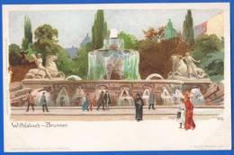Deutschland; München; Wittelsbach Brunnen; Künstlerkarte Kley - München