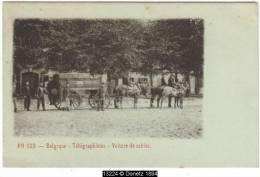 13224g TELEGRAPHISTES - VOITURE De CABLES - Belgique - Equipment