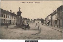 13234g De MARKT - Le Marché - Charrette à Chien - Fontaine - Gavere - 1910 - Gavere