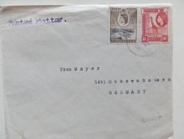 30/927  LETTER TO  GERMANY - Kenya, Uganda & Tanganyika
