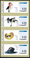 FAROE/Foroyar 2012, Franking Labels Strip Of 4v** - Isole Faroer
