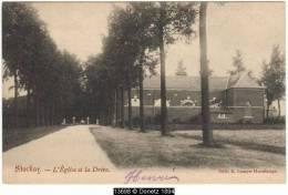 13698g DREVE Et L'Eglise - Stockay - 1907