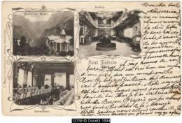 13756g HOTEL Stalheim - Hallen - Spisesalen - 1908 - Noruega