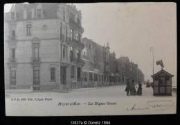 13837g La DIGUE Ouest - Heyst/Mer - 1903 - Heist