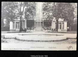 13842g FONTAINE - Kasteel Coetermans - Oude-God - 1903 - Mortsel
