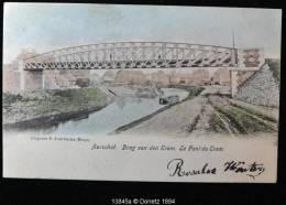 13845g BRUG Van Den TRAM - Aarschot - 1904 - Colorisée - Aarschot