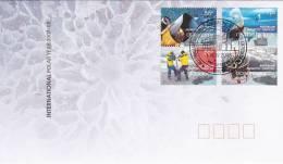 Australian Antarctic Territory 2009 Polar Year  Davis  Base FDC - Australian Antarctic Territory (AAT)