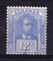 Sarawak - 1922 - 12 Cents Sir Charles Vyner Brooke - Used - Sarawak (...-1963)