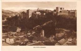 POSTAL DE ESPAÑA DE GRANADA Y LA ALHAMBRA DEL FOTOGRAFO L. ROISIN - Granada