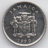 GIAMAICA 5 CENTS 1990 - Giamaica