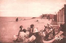 17 L'ILE D'OLERON PLAGE DE SAINT DENIS ANIMEE CIRCULEE 1929 - Ile D'Oléron
