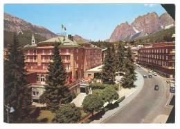 G754 Cortina D'Ampezzo (Belluno) - Grand Hotel Savoia / Non Viaggiata - Italia