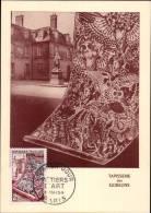 N°970 SUR CARTE POSTALE _ METIERS D´ART / 1er JOUR DATE DU 6.05.1954 _ PARIS - Cartes-Maximum