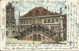 BERN, RATHAUS. PIONNIERE, 1907. SCAN R/V - BE Berne