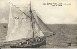EN ROUTE POUR LA PÊCHE, COTES DE FRANCE - Pesca