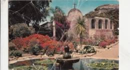 BR38816 San Juan Capostrano Mission     2 Scans - Santa Ana