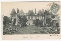 45 - Artenay            Château D'Auvilliers - Artenay