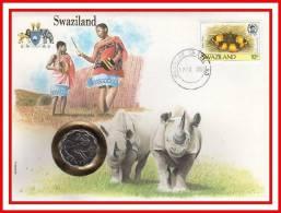 """E.P.N. De 1988 """" SWAZILAND """" En Parfait état ! --> Voir Le Commentaire. - Swaziland (1968-...)"""