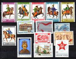 MAGYAR 1978   Hussards Uniformes Militaires, Beaux-arts, Jeunesse, Etc, Entre Yv. 2592 Et 2635**, Cote 23,50 € - Unused Stamps