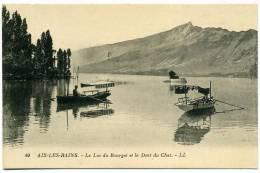 73 AIX LES BAINS ++ Le Lac Du Bourget Et La Dent Du Chat ++ - Aix Les Bains