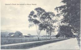 QUEEN'S PARK SAVANNAH & RACE STAND  CPA CIRCA 1910 GOODWILLE & WILSON THE CALEDONIAN HOUSE PORT OF SPAIN TRINIDAD RARISI - Trinidad